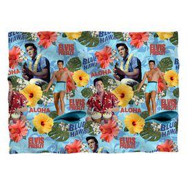 Elvis Presley Blue Hawaii Pillow Case White