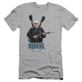 HOT FUZZ MORNING - S/S ADULT 30/1 - SILVER T-Shirt