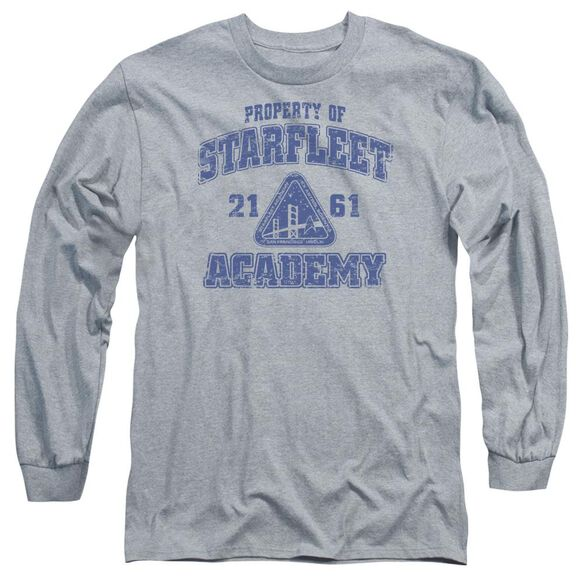 Star Trek Old School Long Sleeve Adult Athletic T-Shirt