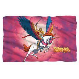 She Ra Clouds Fleece Blanket