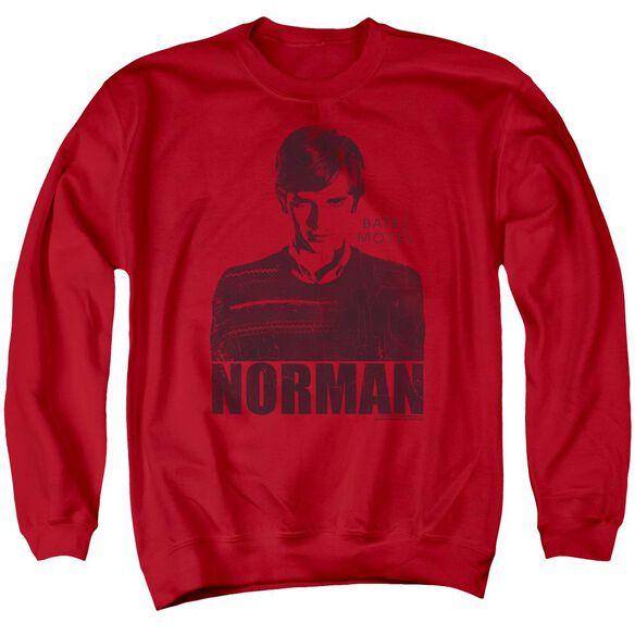 Bates Motel Norman Adult Crewneck Sweatshirt