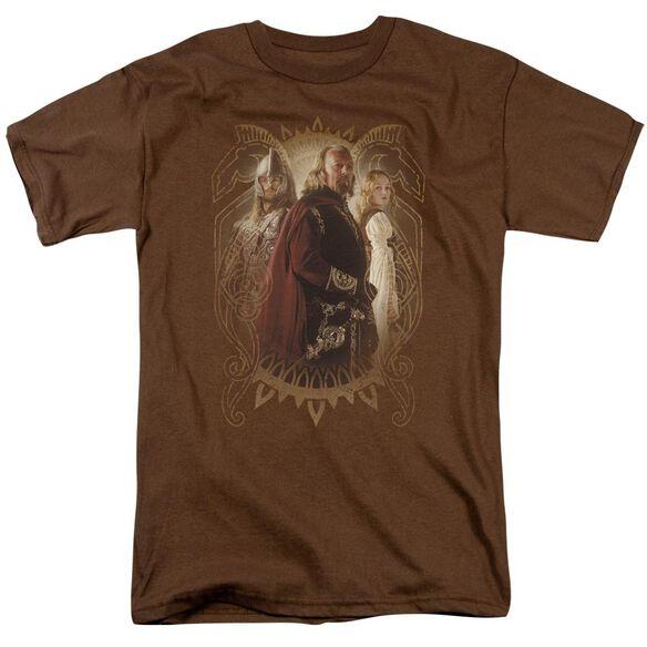 Lor Rohan Royalty Short Sleeve Adult Coffee T-Shirt