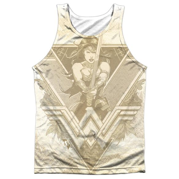 Batman V Superman Greek Goddess Adult Poly Tank Top