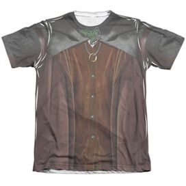 Lord Of The Rings Frodo Costume Adult Poly Cotton Short Sleeve Tee T-Shirt