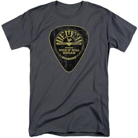 Sun Guitar Pick Short Sleeve Adult Tall T-Shirt