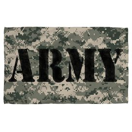Army Camo Face Hand Towel