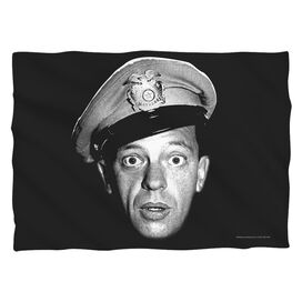 Andy Griffith Show Barney Head (Front Back Print) Pillow Case