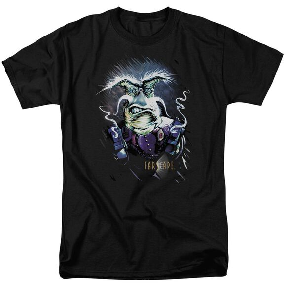 FARSCAPE RYGEL SMOKING GUNS - S/S ADULT 18/1 - BLACK T-Shirt