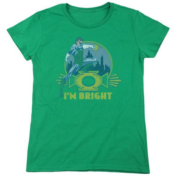 Lantern Im Bright Short Sleeve Womens Tee Kelly T-Shirt