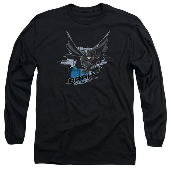 Dark Knight Target Punch Long Sleeve Adult T-Shirt