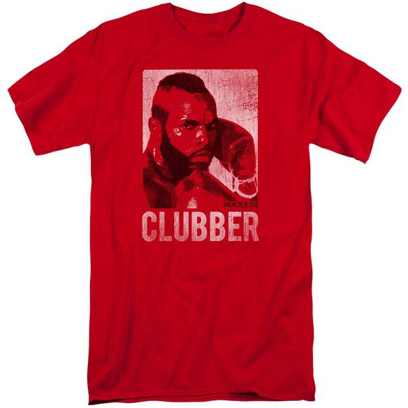 Rocky Iii Clubber Lang Short Sleeve Adult Tall T-Shirt