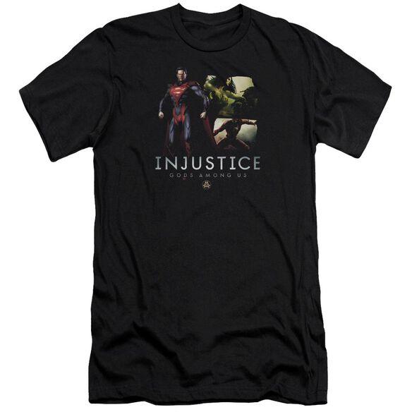 Injustice Gods Among Us Supermans Revenge Premuim Canvas Adult Slim Fit