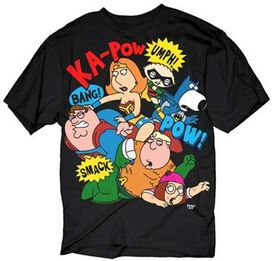 Family Guy Fight T-Shirt