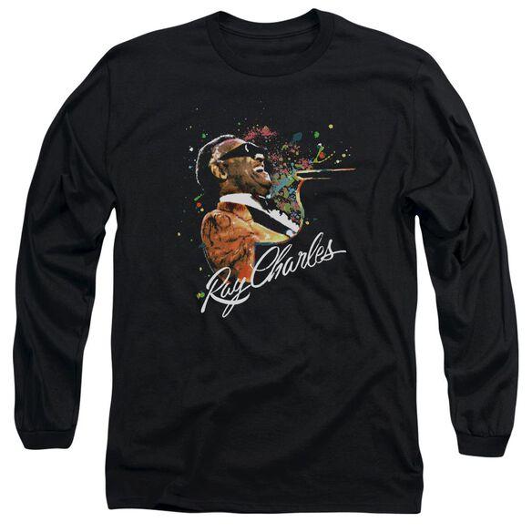 Ray Charles Soul Long Sleeve Adult T-Shirt