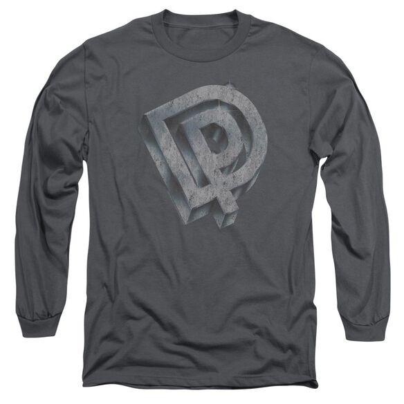 Deep Purple Dp Logo Long Sleeve Adult T-Shirt