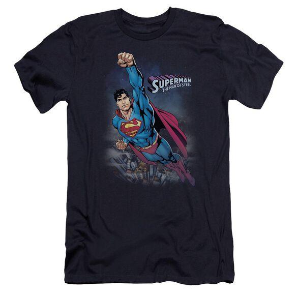 Superman Twilight Flight Premuim Canvas Adult Slim Fit