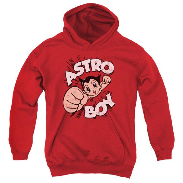 Astro Boy Flying Youth Pull Over Hoodie