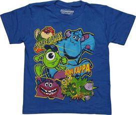 Monsters Inc Scare Games Glow Juvenile T-Shirt