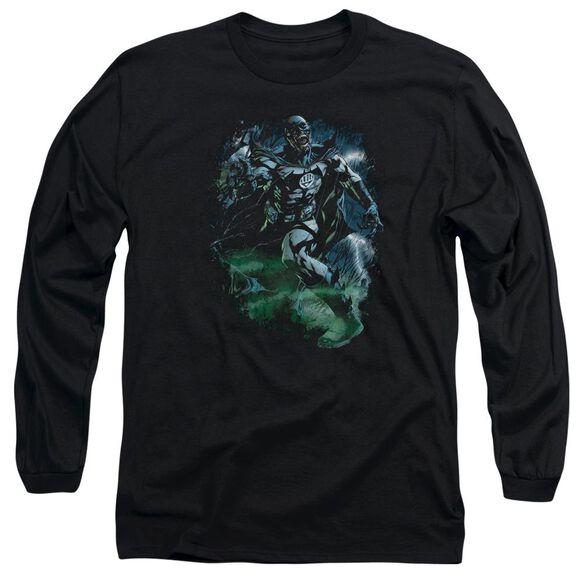 Green Lantern Lantern Batman Long Sleeve Adult T-Shirt