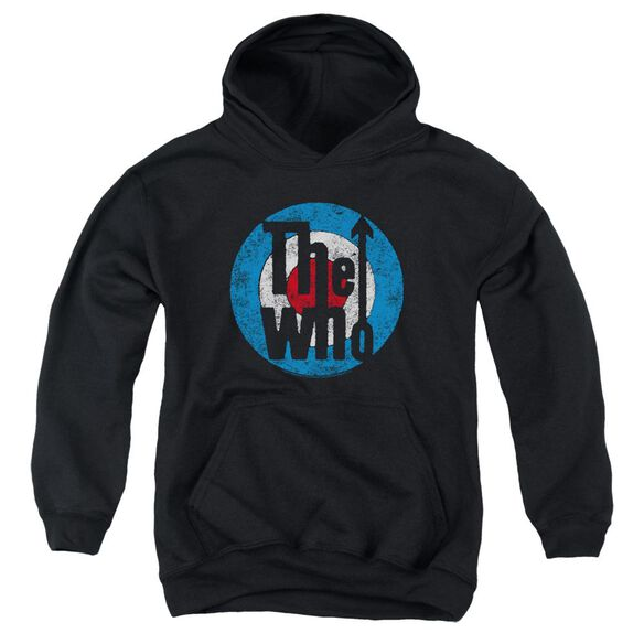 The Who Distressed Target Youth Pull Over Hoodie