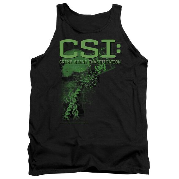 Csi Evidence - Adult Tank - Black