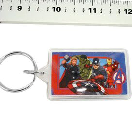 Avengers Movie Group Keychain