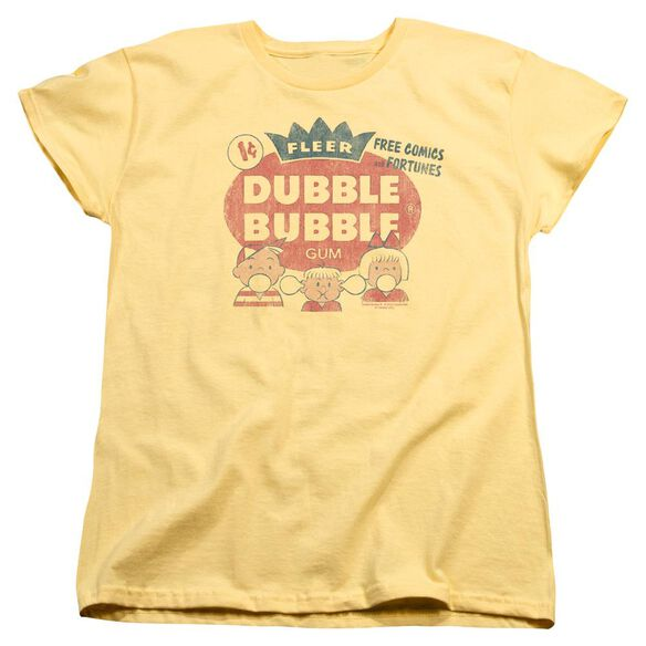 DUBBLE BUBBLE ONE CENT - S/S WOMENS TEE - BANANA T-Shirt