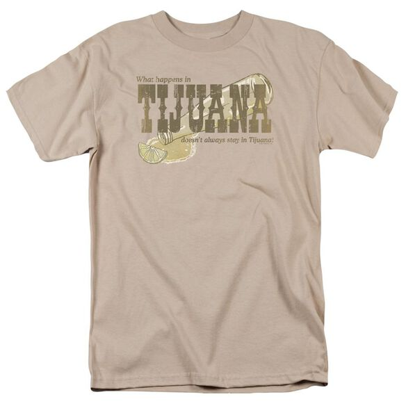 Tijuana Short Sleeve Adult Sand T-Shirt
