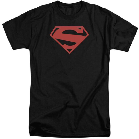 Superman 52 Red Block Short Sleeve Adult Tall T-Shirt