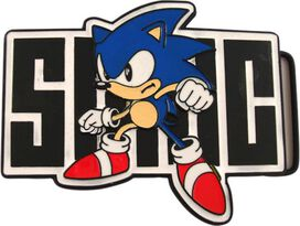 Sonic the Hedgehog Belt Buckle Combo
