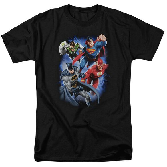 Jla Storm Makers Short Sleeve Adult T-Shirt