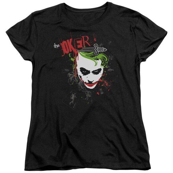 Dark Knight Cards & Deck Short Sleeve Womens Tee T-Shirt