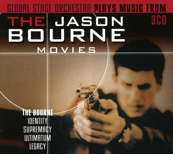 Plays Music From The Jason Bourne Movies / O.S.T.