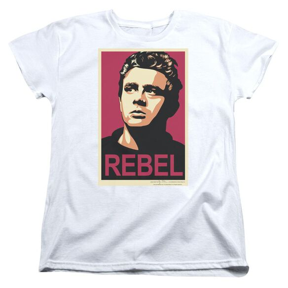 Dean Rebel Campaign Short Sleeve Womens Tee T-Shirt