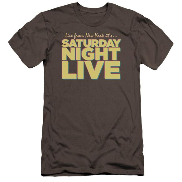 Snl Live From Ny Premuim Canvas Adult Slim Fit