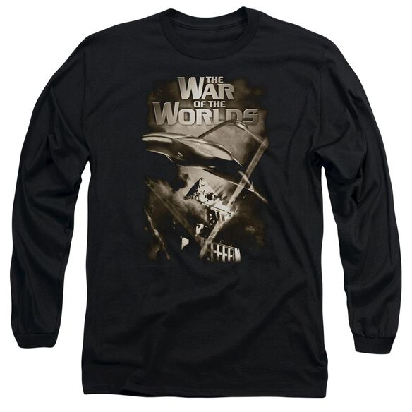 War Of The Worlds Death Rays Long Sleeve Adult T-Shirt