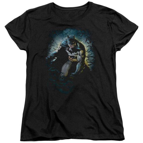 Batman Bat Cave Short Sleeve Women's Tee T-Shirt