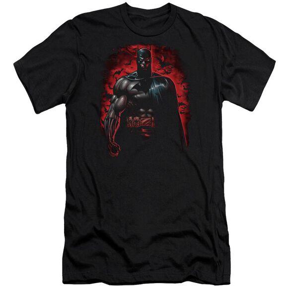 Batman Red Knight Premuim Canvas Adult Slim Fit