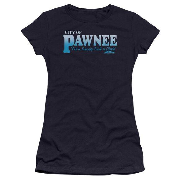 Parks And Rec Pawnee Premium Bella Junior Sheer Jersey