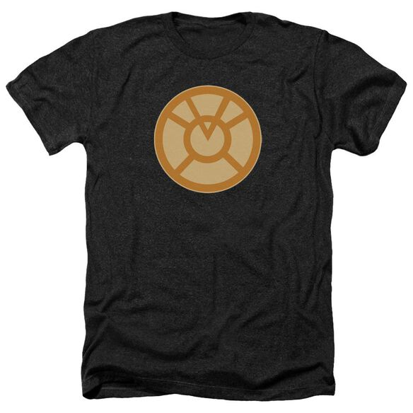 Green Lantern Orange Symbol Adult Heather