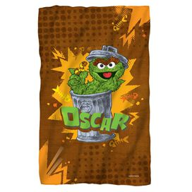 Sesame Street Oscar Fleece Blanket