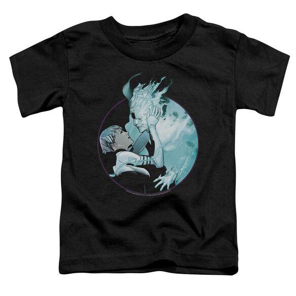 Doctor Mirage Circle Mirage Short Sleeve Toddler Tee Black T-Shirt