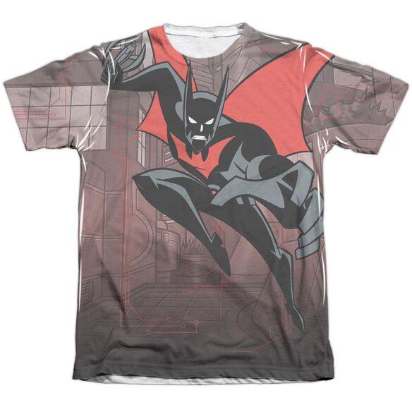 Batman Beyond Bat Tech Adult Poly Cotton Short Sleeve Tee T-Shirt
