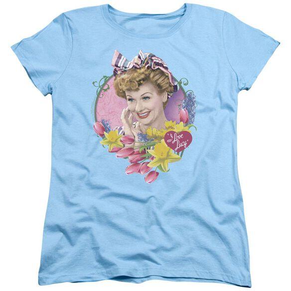 I Love Lucy Springtime Short Sleeve Womens Tee Light T-Shirt