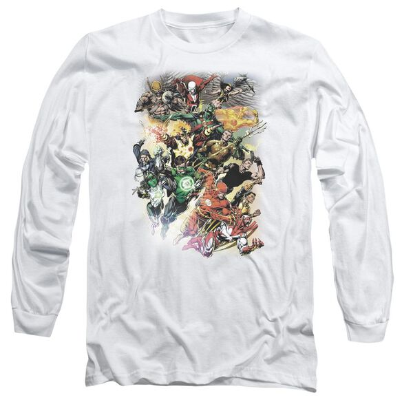 Jla Brightest Day #0 Long Sleeve Adult T-Shirt