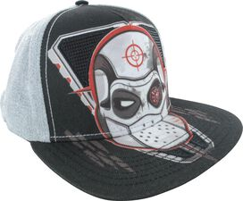 Suicide Squad Dead Shot LED Light Up Snapback Hat