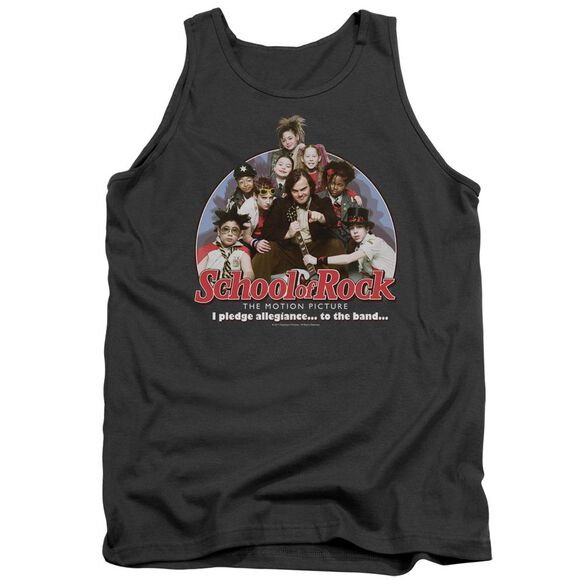 School Of Rock I Pledge Allegiance Adult Tank