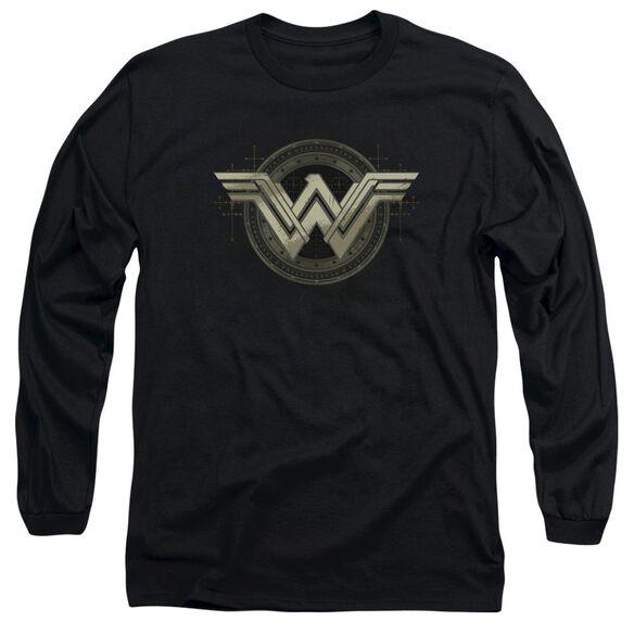 Batman V Superman Ancient Emblems Long Sleeve Adult T-Shirt