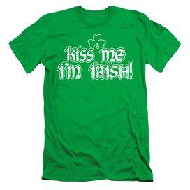 KISS ME IM IRISH- ADULT T-Shirt