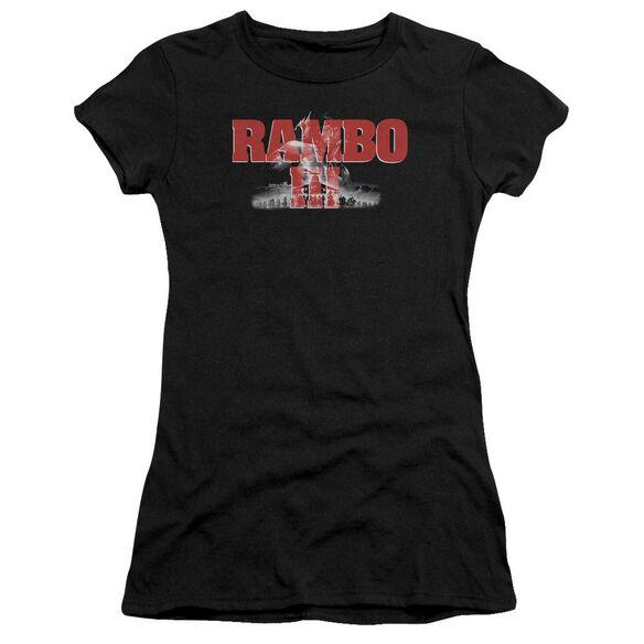 Rambo Iii John Rambo Premium Bella Junior Sheer Jersey